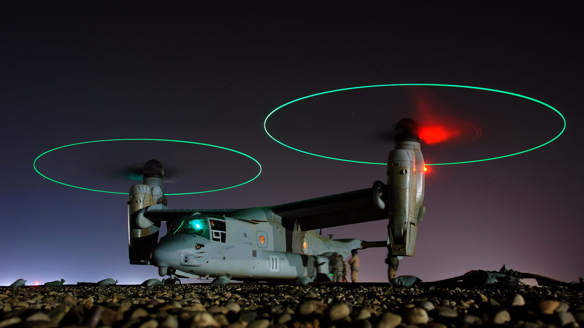 Tiltrotor Teknolojisi ve V-22 Osprey