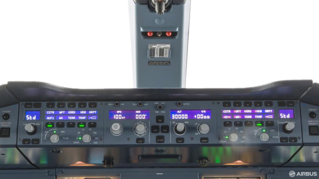 Airbus A380 Oto-pilot Kontrol Paneli