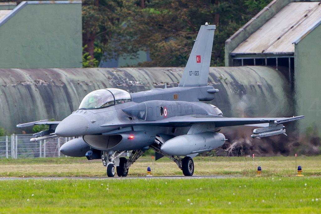 Türk Hava Kuvvetlerine bağlı F-16 Block 50+