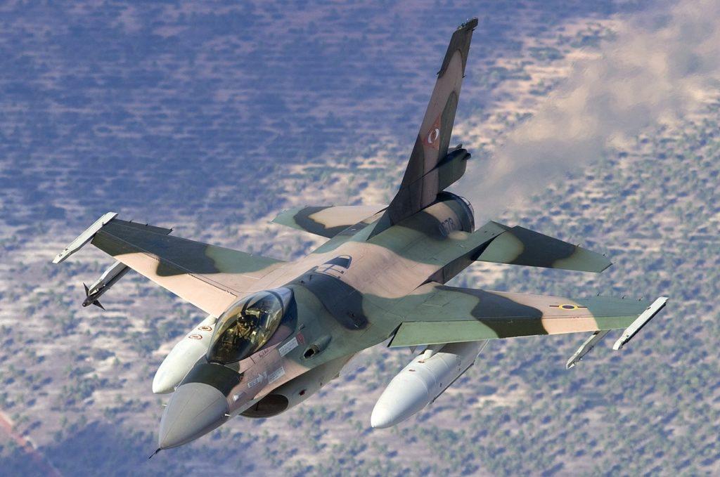 Venezuela Hava Kuvvetlerine ait F-16 Block 15
