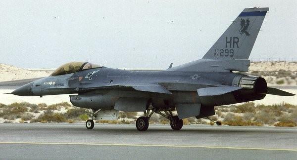 Amerikan Hava Kuvvetleri'ne bağlı F-16 Block 25