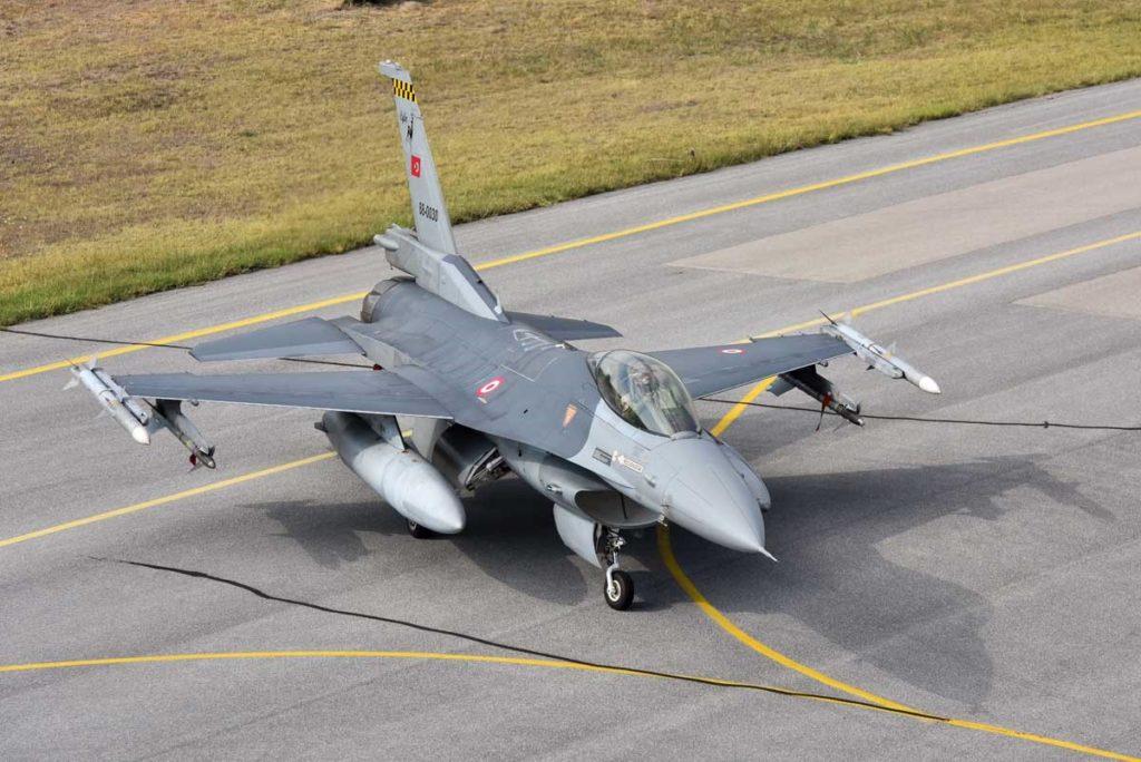 Türk Hava Kuvvetleri'nde Ceylan Filoya bağlı F-16C Block 30