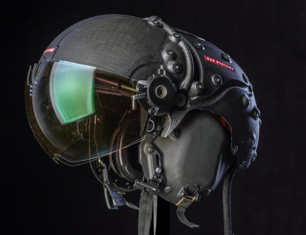 BAE Systems'e ait bir HMD sistemi (The Striker II)