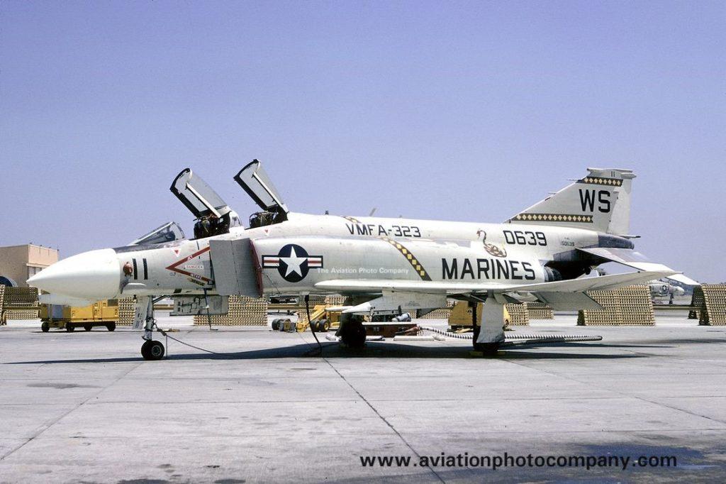 Birleşik Devletler Deniz Piyadelerine bağlı F-4B Phantom II Savaş Uçağı