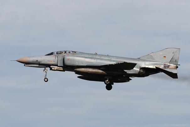 Luftwaffe'ye ait F-4F Phantom II Savaş Uçağı