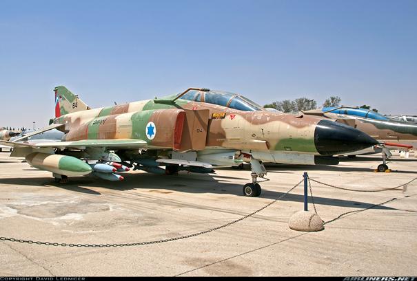 Kurnass 2000 Modernizasyonuna tabi tutulan F-4E Savaş Uçağı