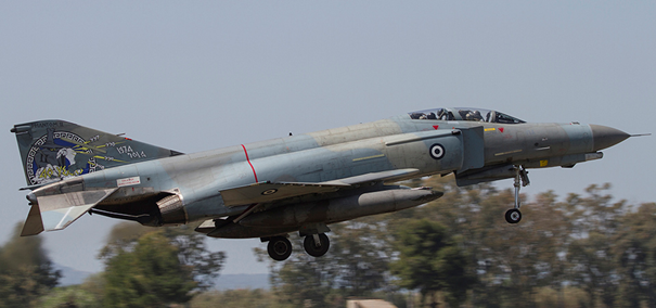AUP Modernizasyonundan geçen F-4E  Phantom II Savaş Uçağı