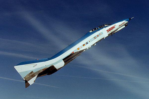 Üretilen 5.000' inci F-4 Phantom II savaş uçağı