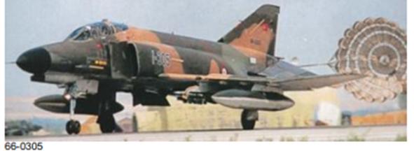 Peace Diamond IV projesi kapsamında envantere giren 66-0305 kuyruk numaralı F-4E Phantom II savaş uçağımız.