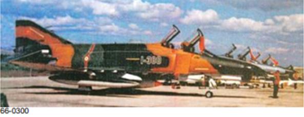Peace Diamond V projesi kapsamında envantere giren 66-0300 kuyruk numaralı F-4E Phantom II savaş uçağımız.