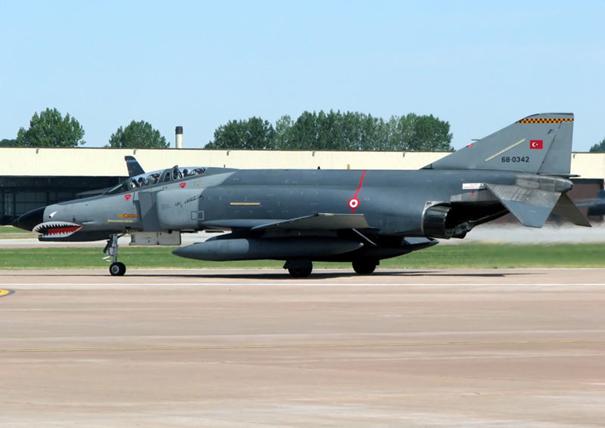Peace Diamond VI projesi kapsamında envantere giren 66-0342 kuyruk numaralı F-4E Phantom II savaş uçağımız.