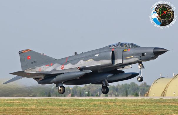 Kaan projesi kapsamında envanterimize giren 69-7512 RF-4E savaş uçağımız. Uçak Işık Projesi kapsamında modernize edilmiştir.