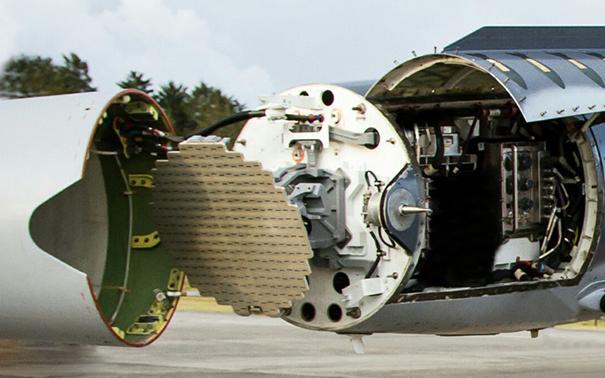Elta üretimi EL/M-2032 radar
