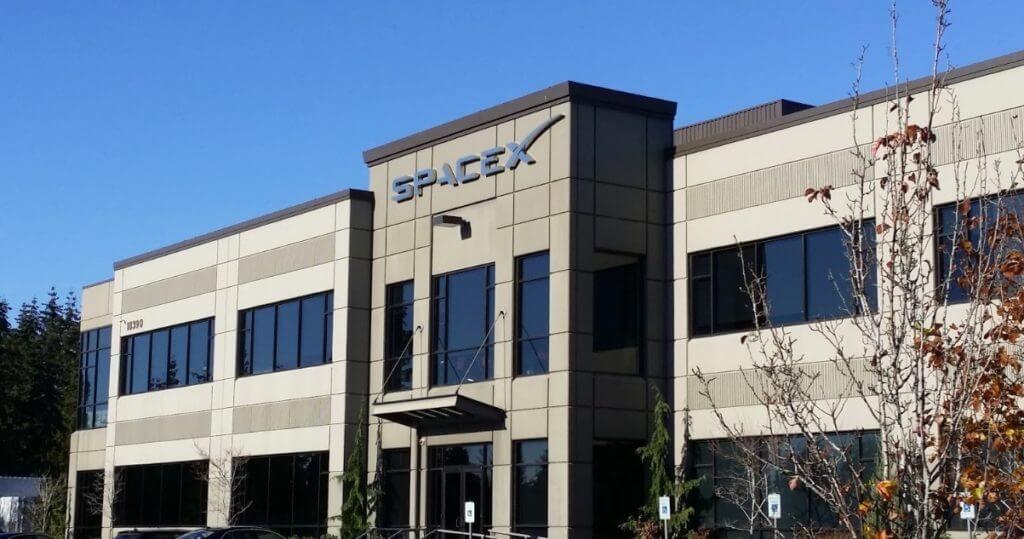 SpaceX'in Redmond'da açtığı uydu merkezi