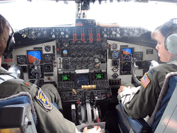 Pacer Crag Modernizasyonundan geçen KC-135R Stratotanker uçağı