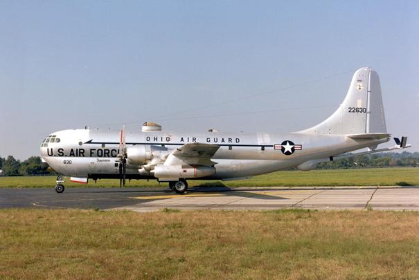 Birleşik Devletler Hava Kuvvetleri'nde görev yapmış KC-97 Stratofreighter uçağı