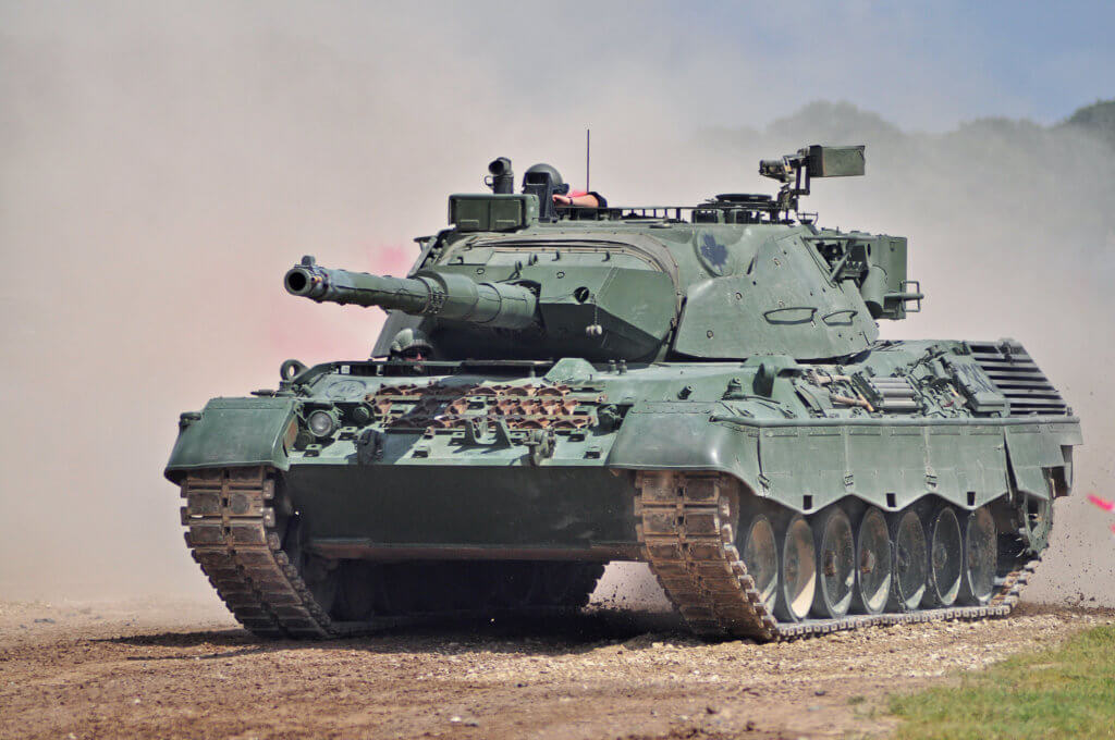 Alman Leopard 1 Tankı  Tank