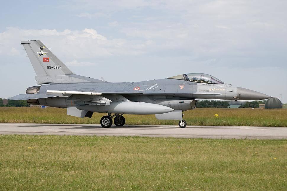 Elite 2007 Tatbikatında Tunç Filoya Bağlı F-16 Block 50