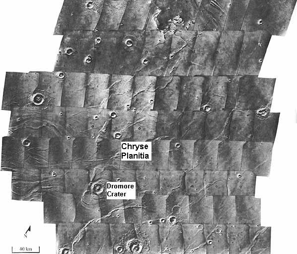 Viking 1 aracının indiği bölge