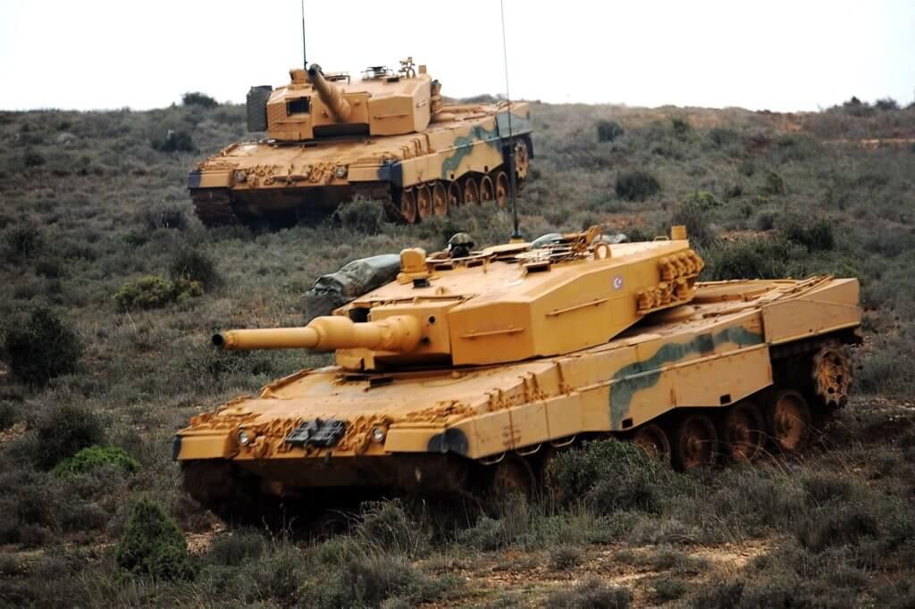 Türk Silahlı Kuvvetlerine bağlı Leopard 2A4 tankları Tank