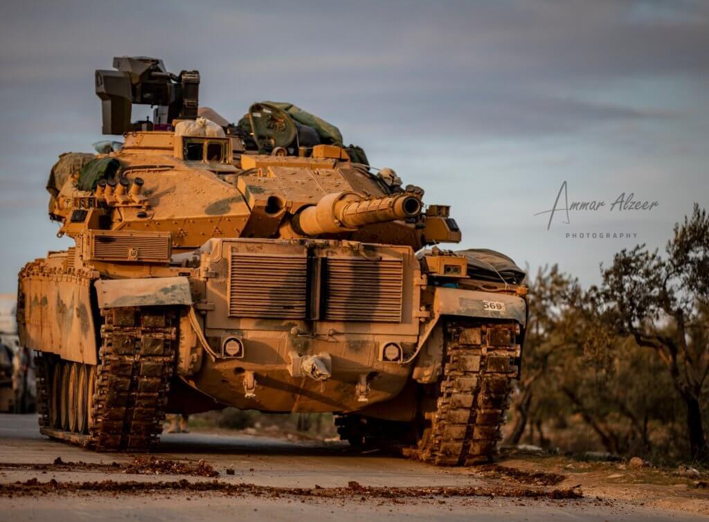 Fırat Modernizasyonundan geçmiş M60T tankı, Suriye Tank