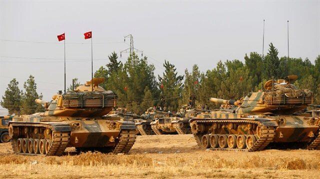 Türk M60 Tankları, Suriyede iken  Tank