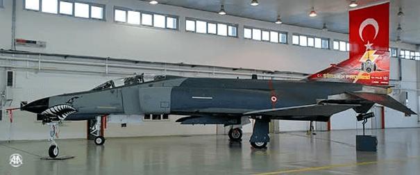Şimşek Modernizasyonu kapsamında modernize edilen F-4E TM savaş uçağımız