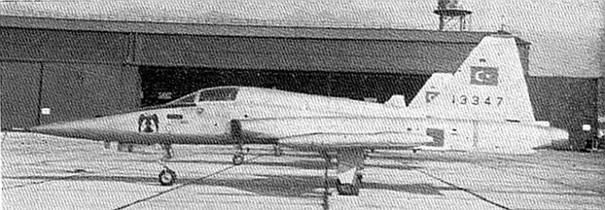 Kartal Akrotime bağlı F-5A Savaş Uçağı
