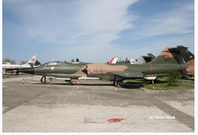 9. Ana Jet üssünde görev yapmış 6868/9-868 kuyruk numaralı F-104S savaş uçağımız