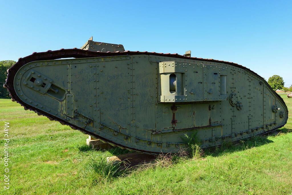 İngiliz Mark I tank (Dişi model)