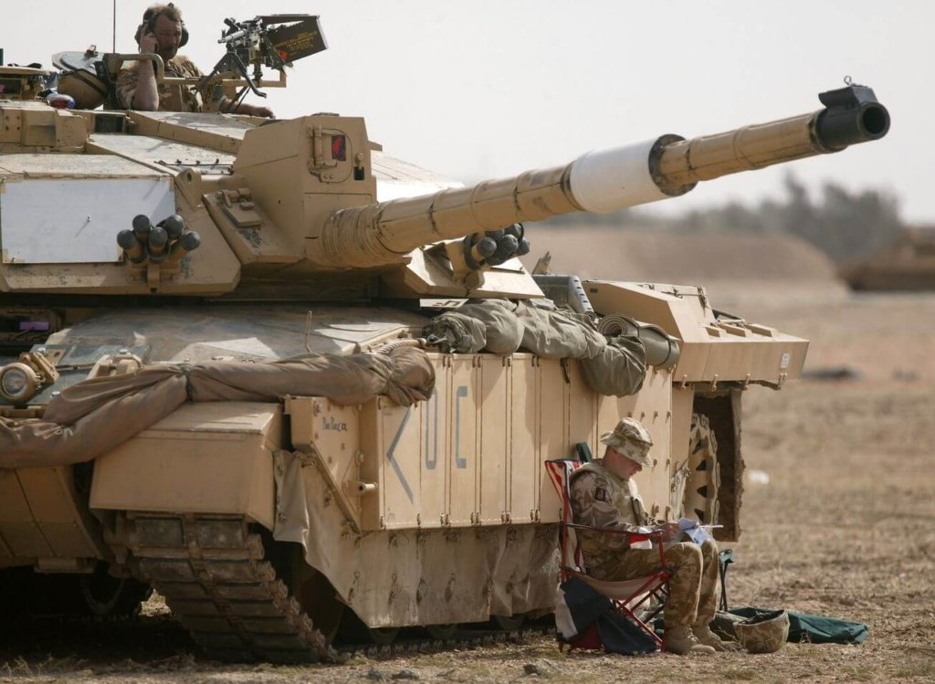 İngiliz Challenger 2 tank