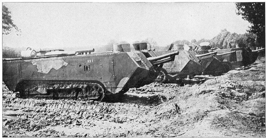 St. Chamond Tank