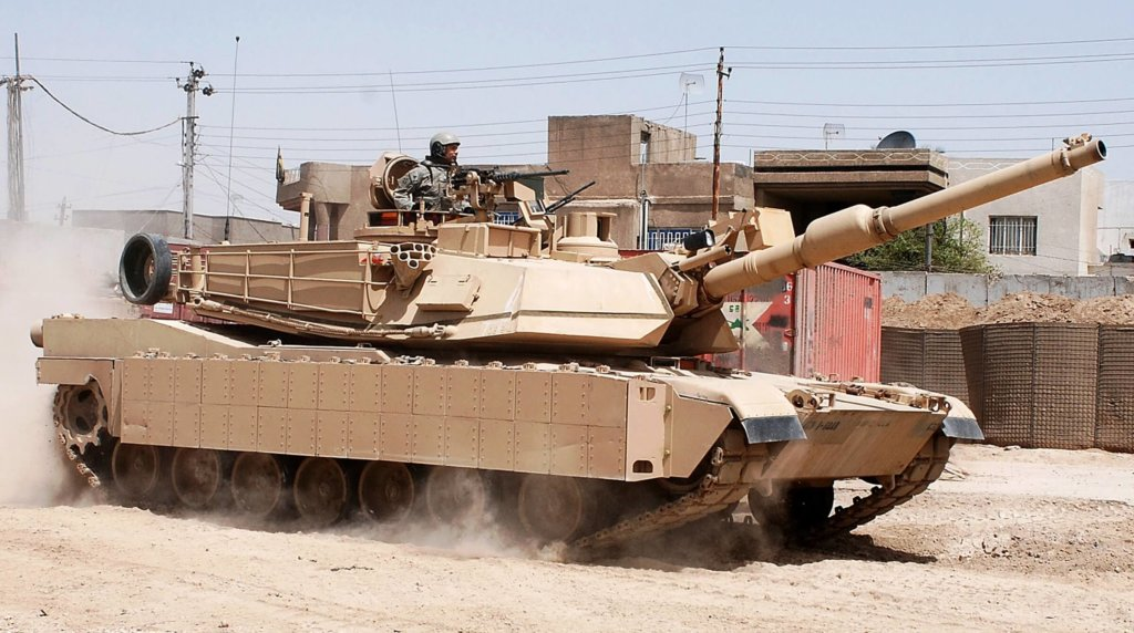 Amerikan M1 Abrams tankı