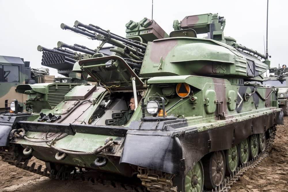 """Sovyet ZSU-23-4 """"Shilka"""""""