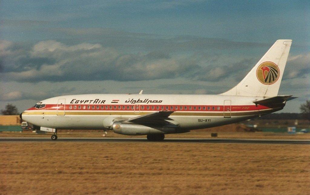Teröristlerin kullandığı SU-AYI kodlu Boeing 737