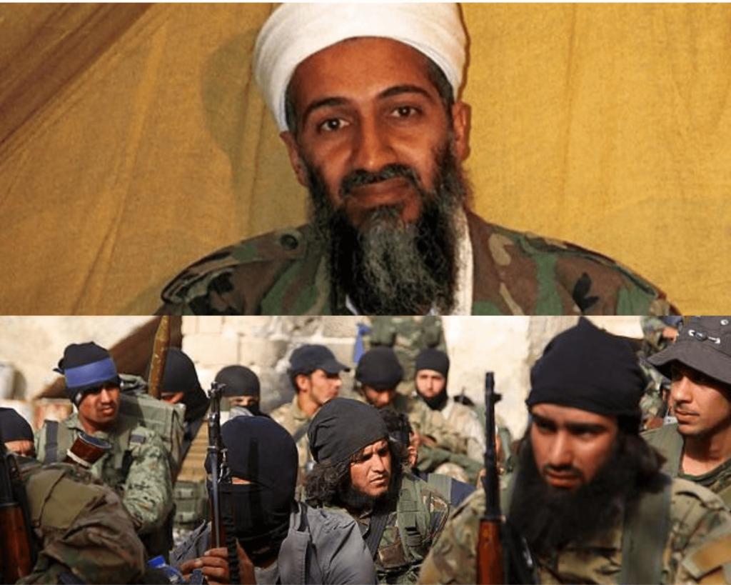 Usame Bin Ladin ve El-Kaide'li teröristler