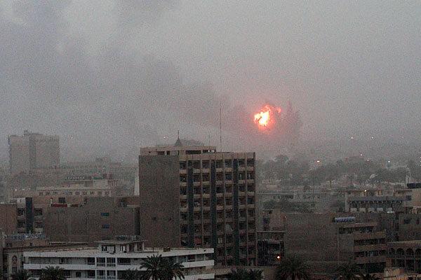 Irak'a atılan ilk bombalardan biri