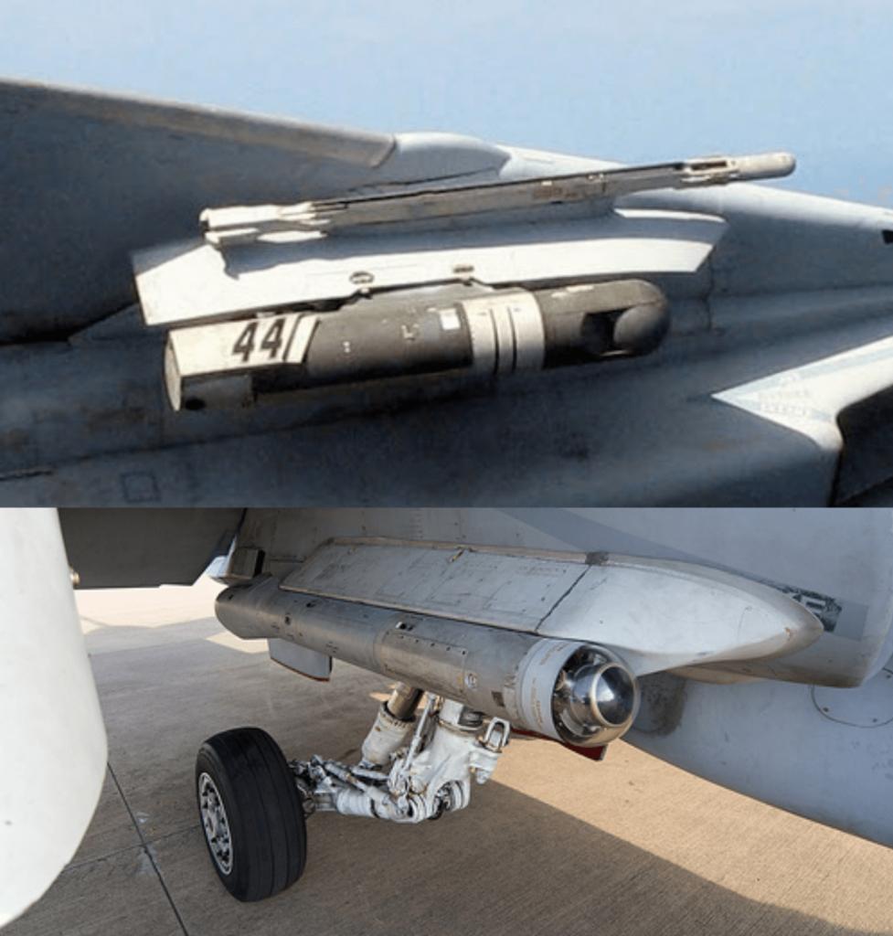 Lantirn ve Nitehawk hedefleme sistemleri