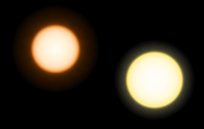 güneş vs epsilon eridanı yıldızlar