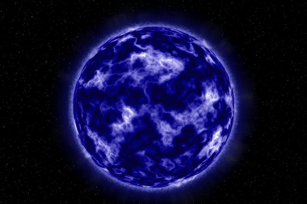 mavi yıldız-yıldızlar