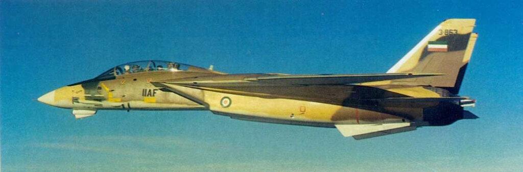 İran İmparatorluk Hava Kuvvetleri envanterine giren ilk F-14 (3-863 (No:160299) numaralı)