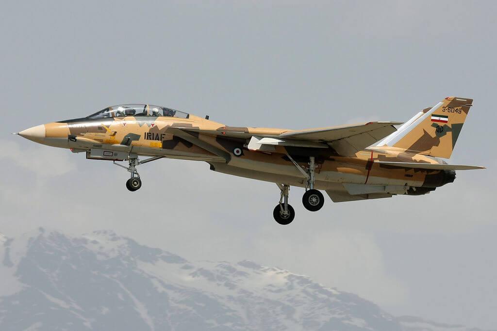 İran'a ait modernize edilen F-14AM savaş uçağı