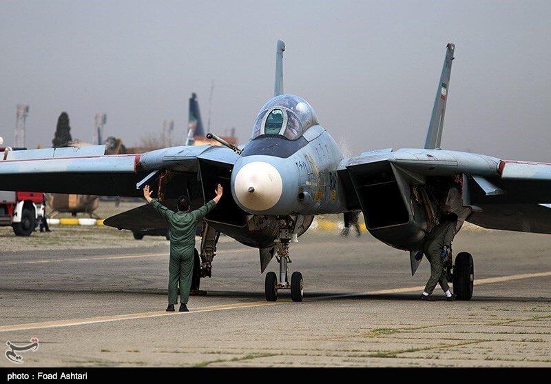 İran'a ait F-14 Tomcat