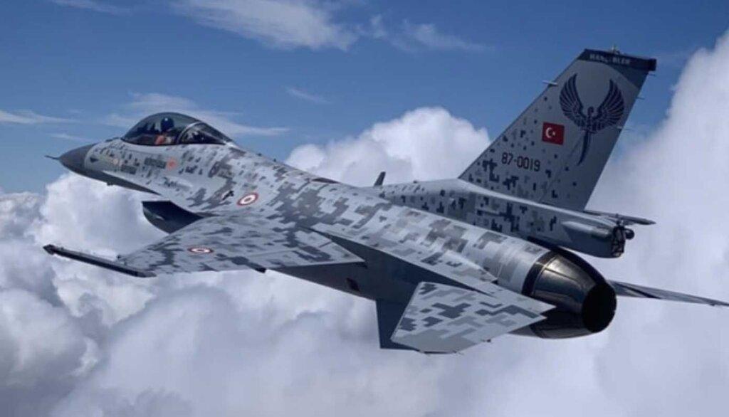 F-16 Özgür Modernizasyonunda olan savaş uçağımız