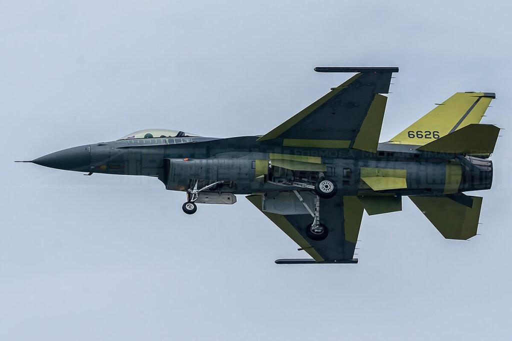 F-16 Block 70 seviyesine yükseltilen ilk Tayvan F-16'sı