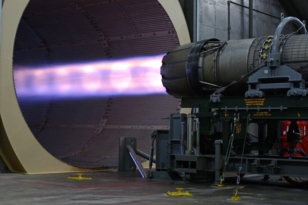 F-16 Block 70 'e güç verecek F110-129 motoru