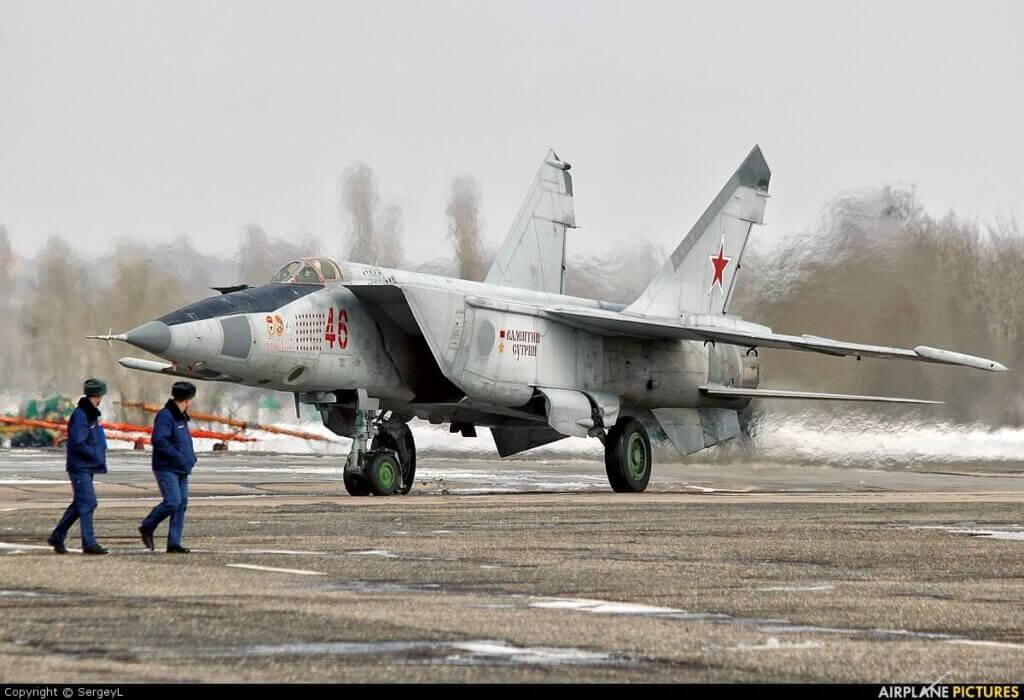 Mig-25 savaş uçağı