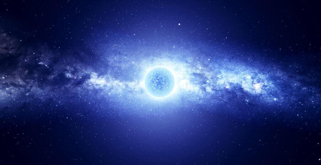 Bir sanatçının gözünden nötron yıldızı